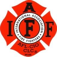 logo of international association of fire fighters