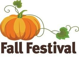 Fall Festival sign clipart