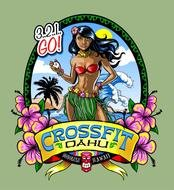 Hawaiian t-shirt clipart