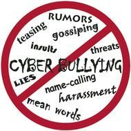 stop cyber bullying drawing
