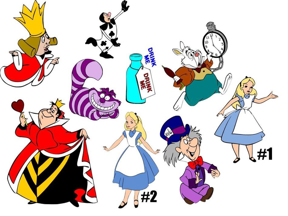 characters of Alice In Wonderland