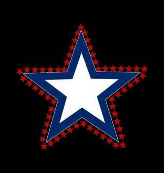 Star Memorial Day clipart