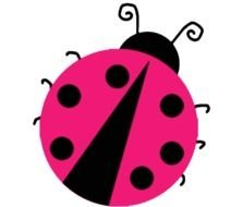 Baby lady bug drawing
