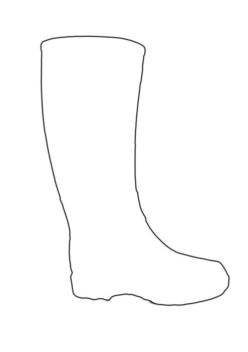 boot as a picture for clipart