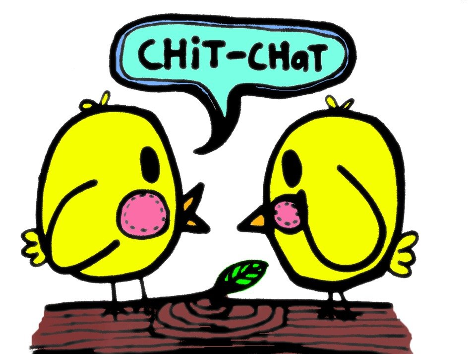 chit chat illustration