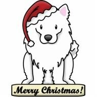 merry christmas ornaments dog drawing