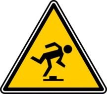 Safety road sign clipart