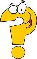 animated yellow question mark