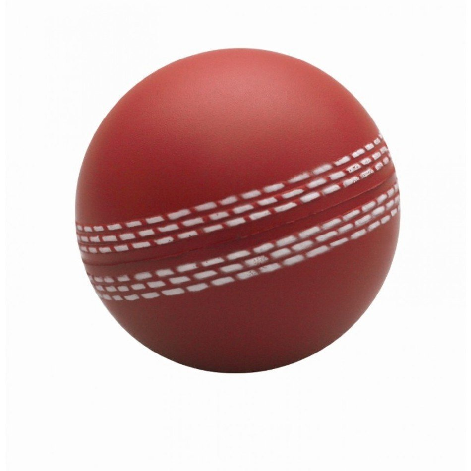 Stress Cricket Ball Red drawing