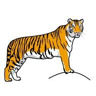 Share With Friends Download Tiger Which Is Under The clipart