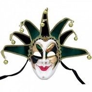 carnival mask on a white background