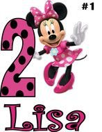 Birthday Minnie Mouse Baby drawing