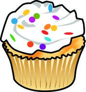 Clipart of sweet muffin