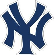 New York Yankees logo drawing