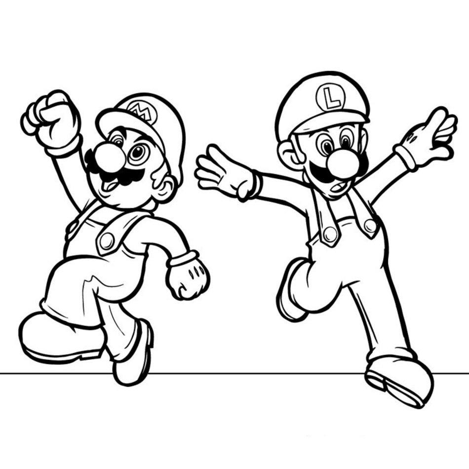 Coloriage Mario Strikers A Imprimer Gratuit free image download