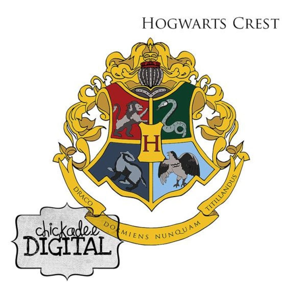 Harry Potter Hogwarts Crest Houses Free Image