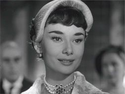Audrey Hepburn is a Hollywood star