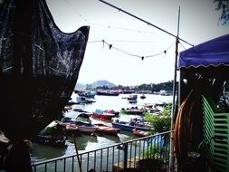 harbor on the island of Cheung Chau