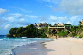 very beautiful barbados beach