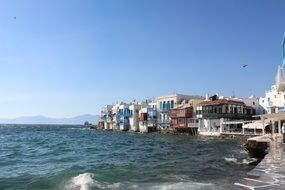 Travelling in mykonos