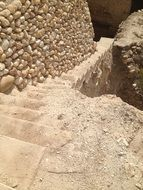 stone staircase in israel