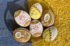 easter spring biscuits eggs egg