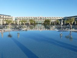 pool of a luxury hotel in portugal
