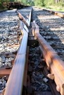 the intersection of rails