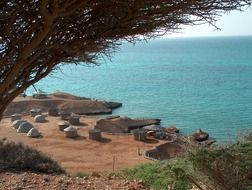 beach of rasa bir in djibouti
