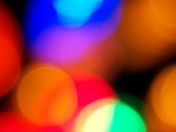 xmas lights focus