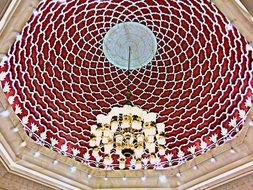 roof dome in mall