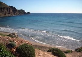 beach in La Isleta del Moro
