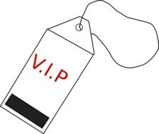 luggage tag on white background