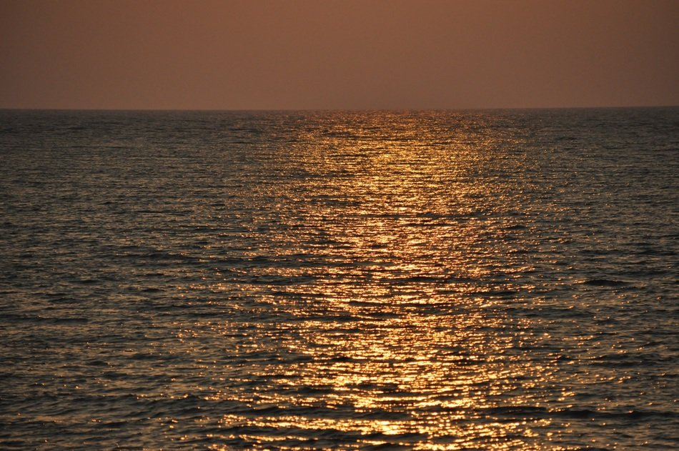 Baltic Sea at sunset