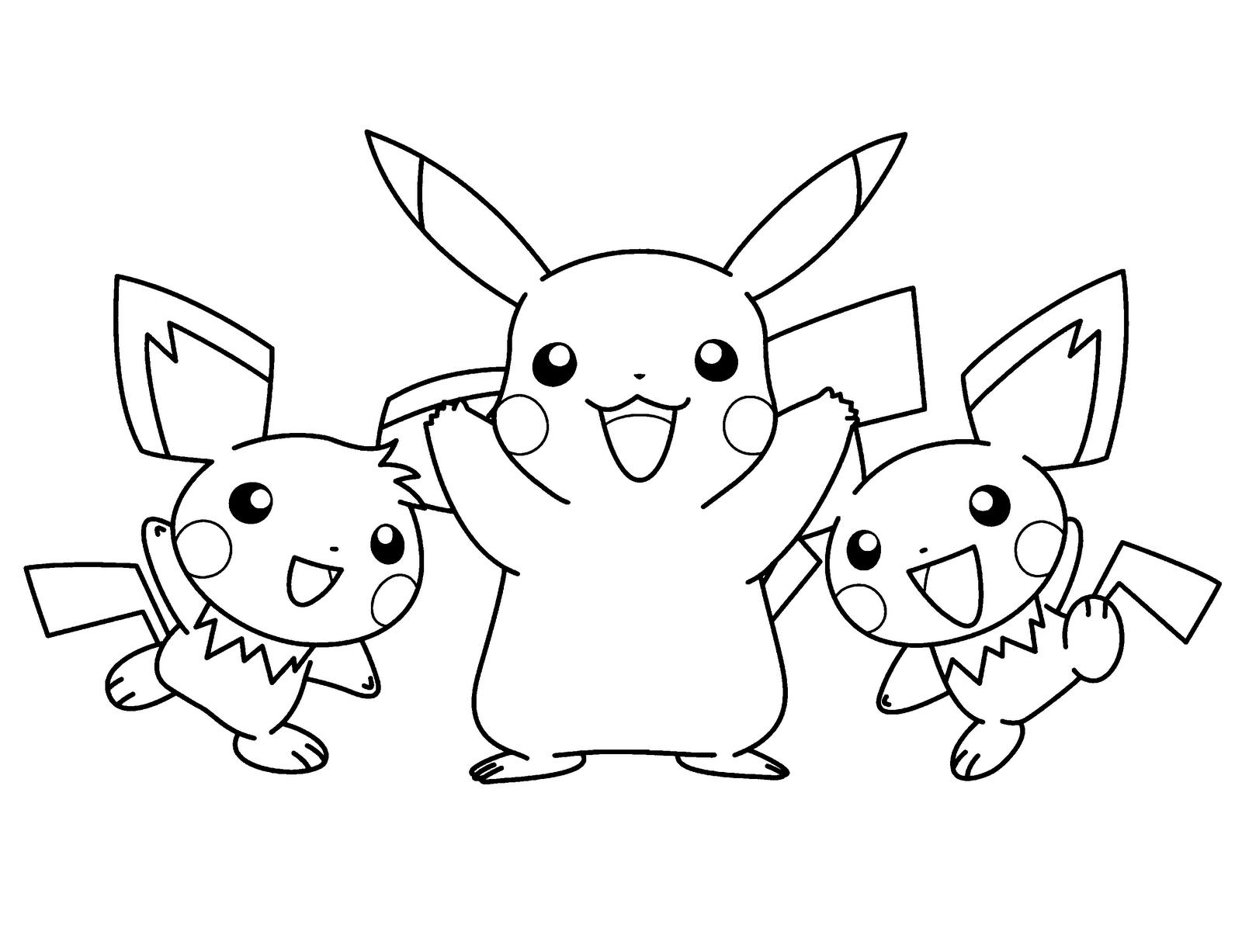 Pokemon Da Colorare Disegni Stampare Gratis Free Image
