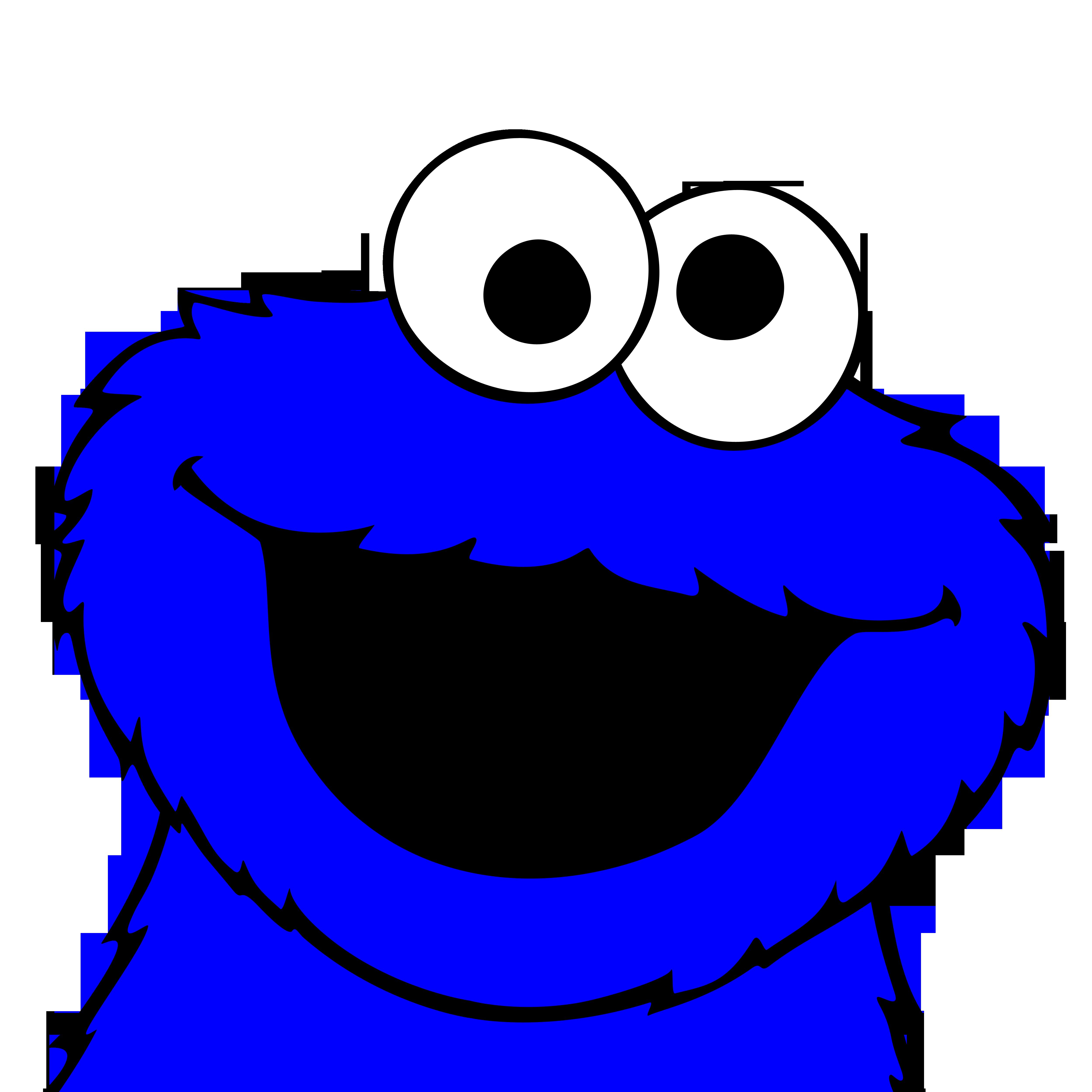cookie monster cookies - 894×894