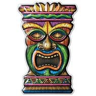 Clipart of Tiki 3D Art Form