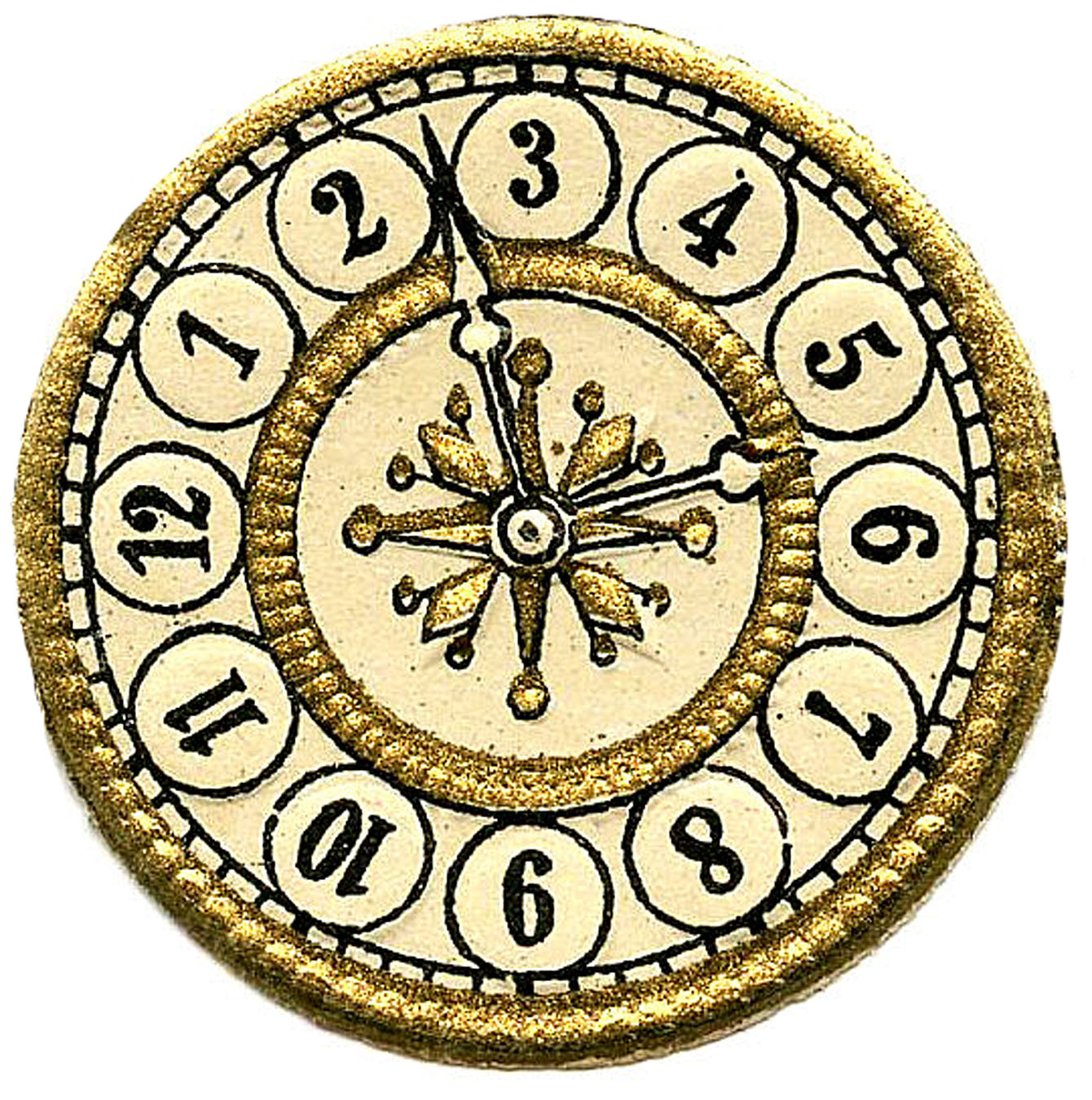 picture relating to Free Printable Clock Face With Hands called Printable Clock Deal with With Fingers Frees That Oneself Can Obtain