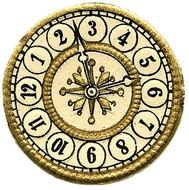 Clock Face Without Hands free image