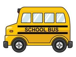 yellow School Bus Clipart drawing