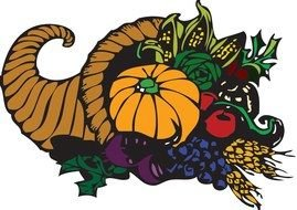 Colorful Thanksgiving clipart