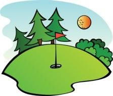 Golf Microsoft Panda Free Images clipart