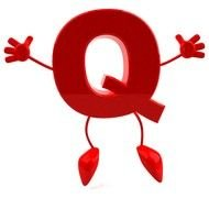 letter q cartoon drawing