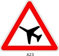 Airport Sign At Clkercom Vector Online Royalty