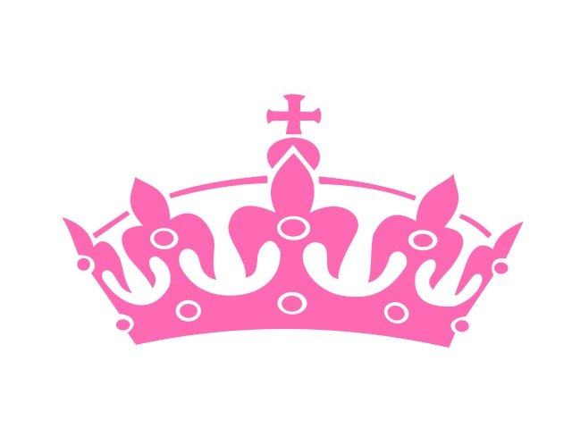 pink princess crown template haley tiara clip free image