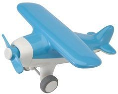 blue toy airplane