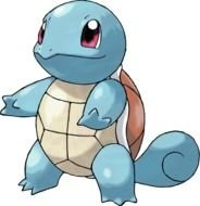 blue turtle from the Pokemon cartoon