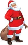 Clipart of the Santa