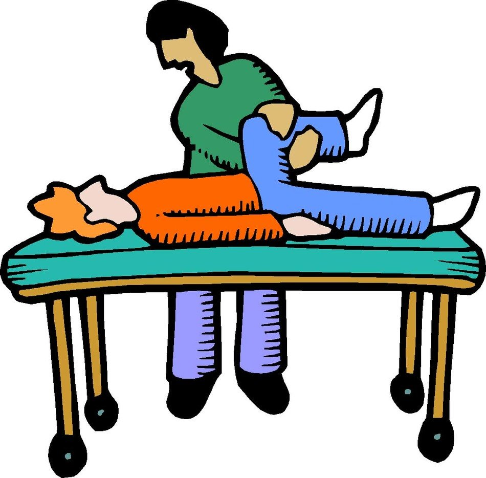 illustration of physical therapy