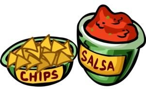 chips and salsa sauce